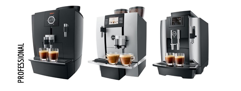 JURA Professional koffieautomaten